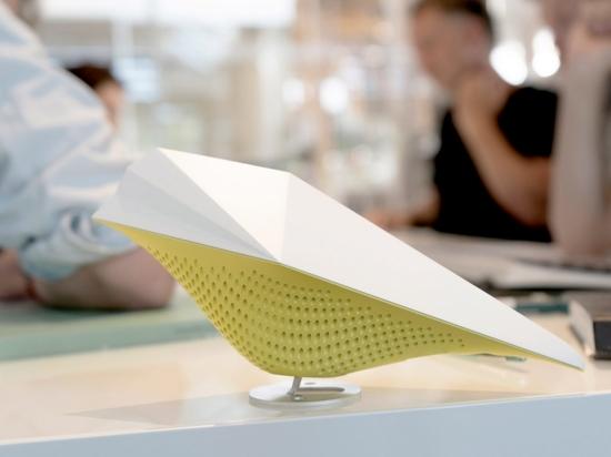 AirBird è un sensore intelligente che cinguetta per evidenziare l'inquinamento dell'aria interna