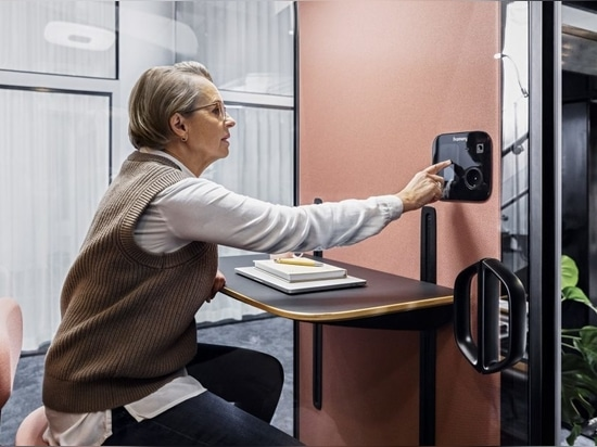 Framery lancia la prima cabina acustica completamente collegata sul mercato
