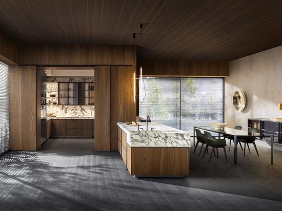 La collezione di cucine e sale da pranzo Ratio di Molteni, disegnata da Vincent Van Duysen.