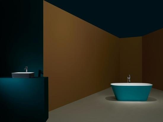 Tre nuove palette di colori per il bagno progettate per la vita in isolamento