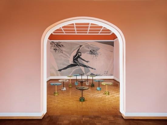 Tavolino Pina di Sebastian Herkner per Pulpo