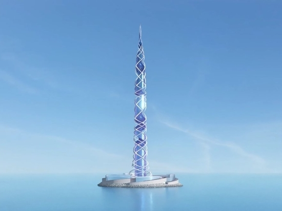 Kettle Collective prevede di costruire la seconda torre più alta del mondo in Russia