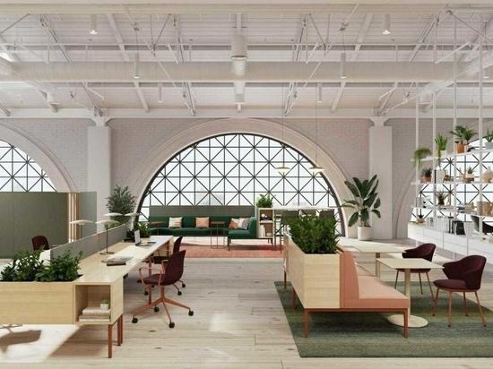 I mobili modulari di Stylex affrontano il posto di lavoro del futuro