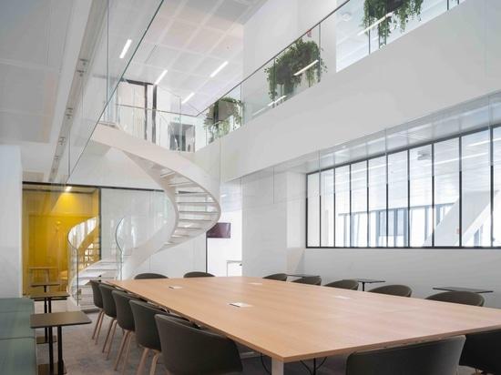 La sala conferenze della redazione.