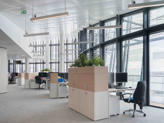 Ufficio aperto per il gruppo Le Monde.