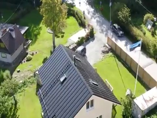 Roofit edificio solare integrato tetto solare