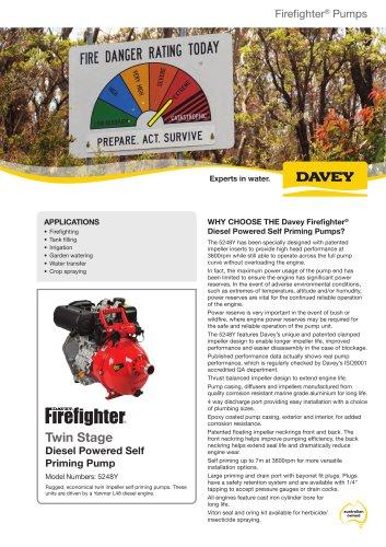 5248Y Yanmar Diesel FireFighter
