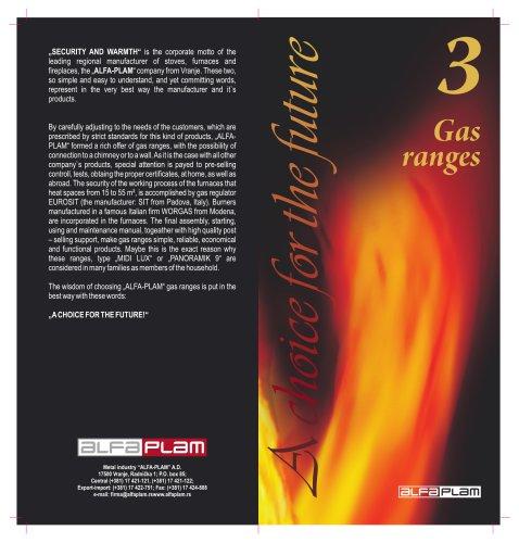 Gas ranges