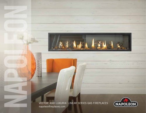Vector™  and Luxuria™  Linear Gas Fireplaces