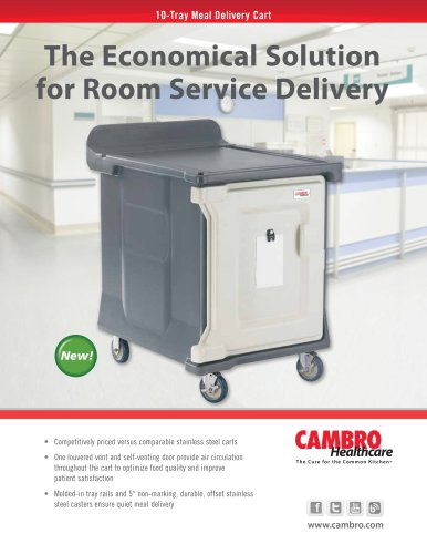 10 Tray Meal Delivery Cart