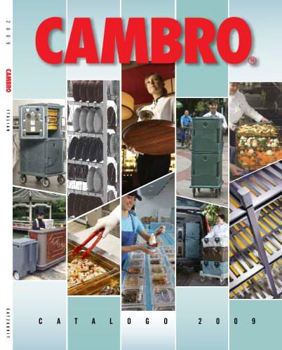 Cambro Europe Catalogue 2009