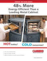 CAMTHERM® FOOD HOLDING CABINETS
