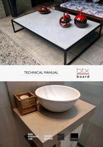 TECHNICAL MANUAL BTX|BOARD