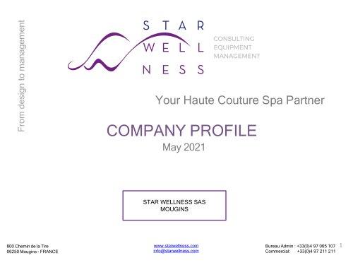 COMPANY PROFILE MAY 2021