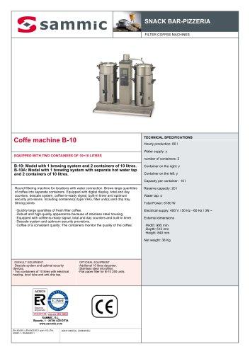 Coffe machine B-10