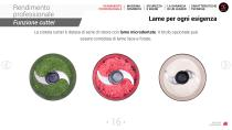 Combi Tagliaverdure + cutter - 16
