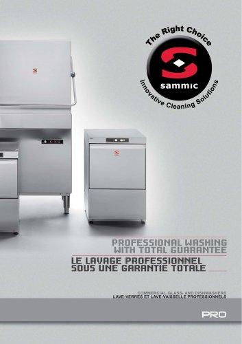 PRO line dishwashers