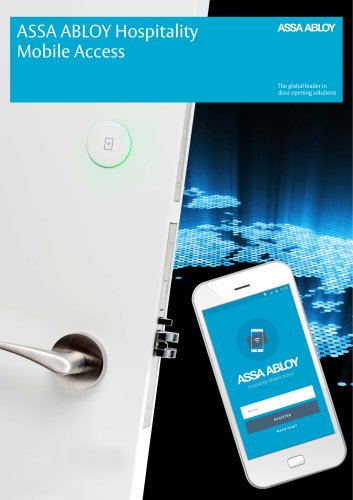 ASSA ABLOY Hospitality Mobile Access
