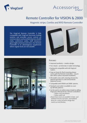 VISION Remote Controller Datasheet