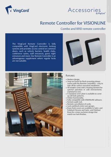 VISIONLINE Remote Controller Datasheet