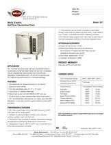 convection ovens: Half Size OC-1