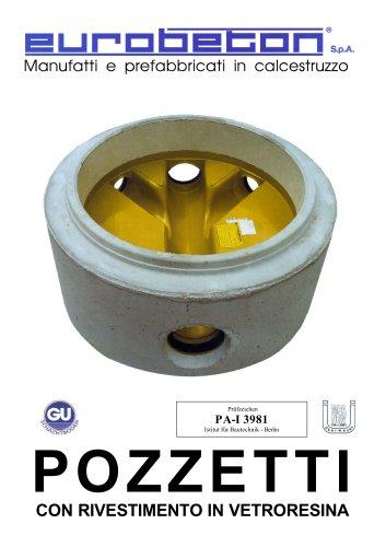Round shafts DN.1000-1200 DIN 4034