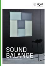 SIGEL Lookbook Room Acoustics Solutions Sound Balance