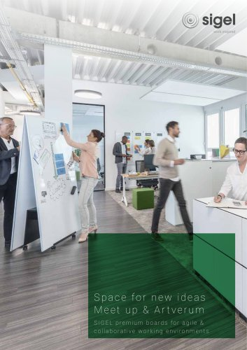 SIGEL premium boards for agile & collaborative working environments