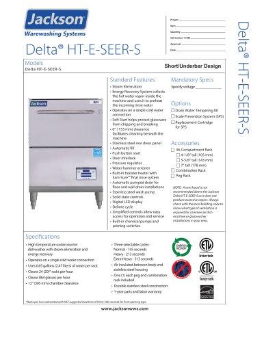 Delta® HT-E-SEER-S