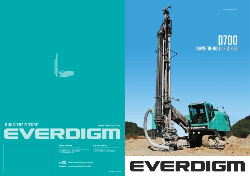 D700 Down-the-Hole drill rigs