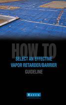 Vapor Retarder/Barrier Guideline