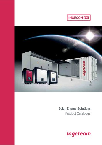 Solar Energy Solutions Product Catalogue
