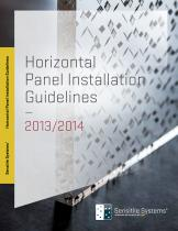 Horizontal Panel Installation Guidelines