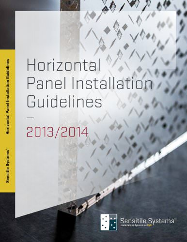 Horizontal Panel Installation Guidelines