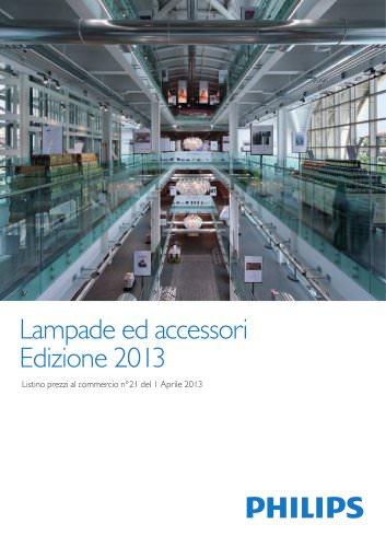 Lampade ed accessori Edizione 2013