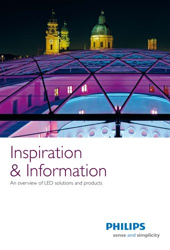 LED brochure: Inspiration and Infomation