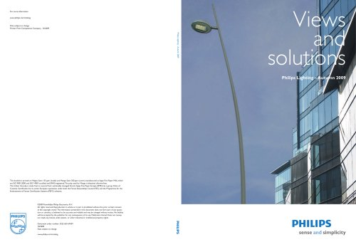 Views and Solutions, Autumn 2009