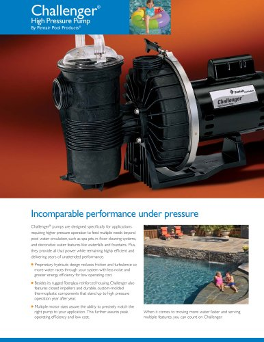 Challenger® High Pressure Pumps