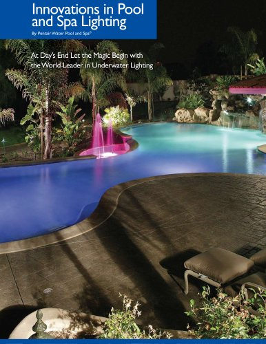 Innovations in Pool and Spa Lighting