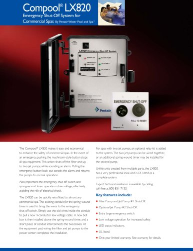 LX8202 Emergency Shut-off System