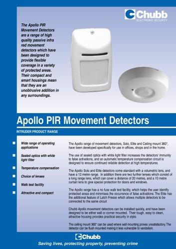 Apollo PIR Movement detectors