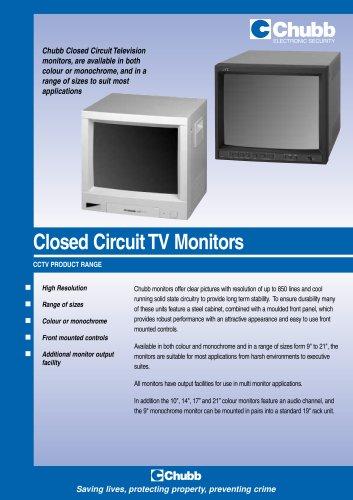 Closed Circuit TV Monitors