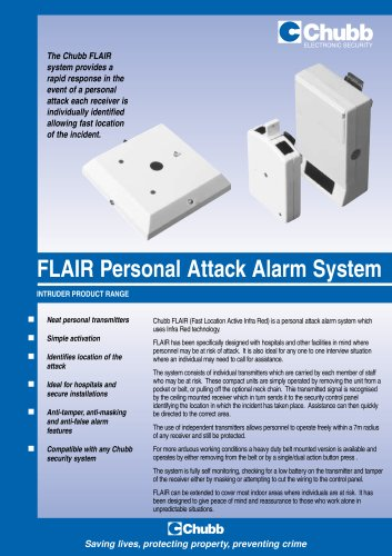 Flair Personal Attack Alarm System