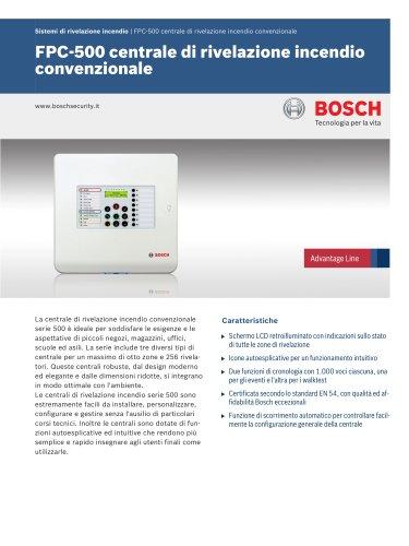 Video/Sistemas de Detección de Incendios:Conventional Fire Panel FPC-500