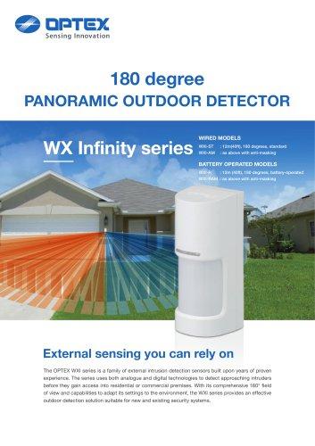 180 degree PANORAMIC OUTDOOR DETECTOR