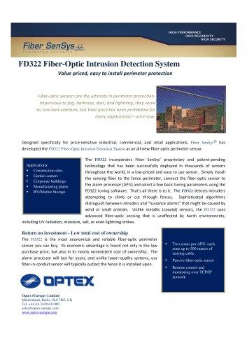FD322 Fiber-Optic Intrusion Detection System