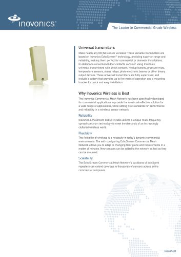 Inovonics Universal Echostream transmitters
