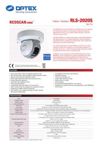 REDSCAN mini RLS-2020S