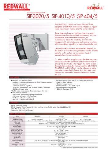 REDWALL SIP-3020-5 SIP-4010-5 SIP-404-5