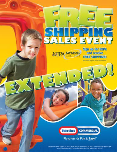 FREE SHIPPING SALES EVENT